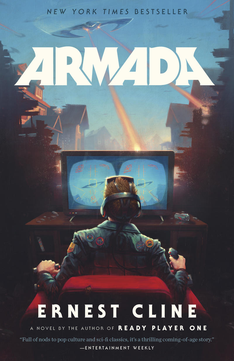 Armada Cover, by Ernest Cline