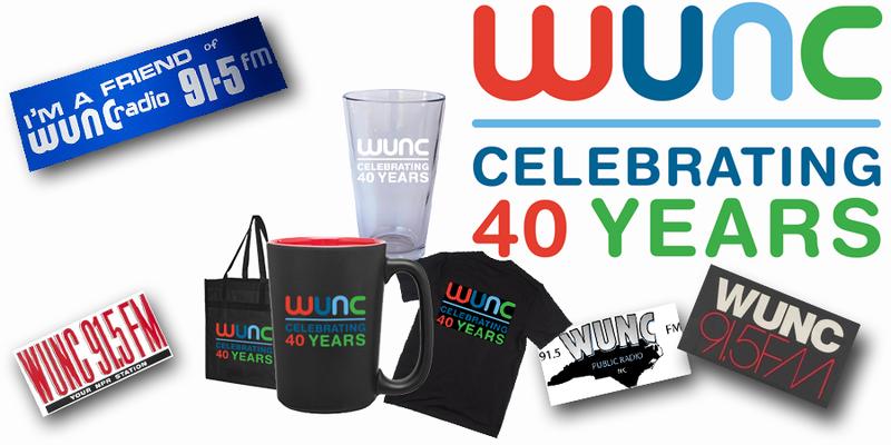 Celebrating 40 years - WUNC!