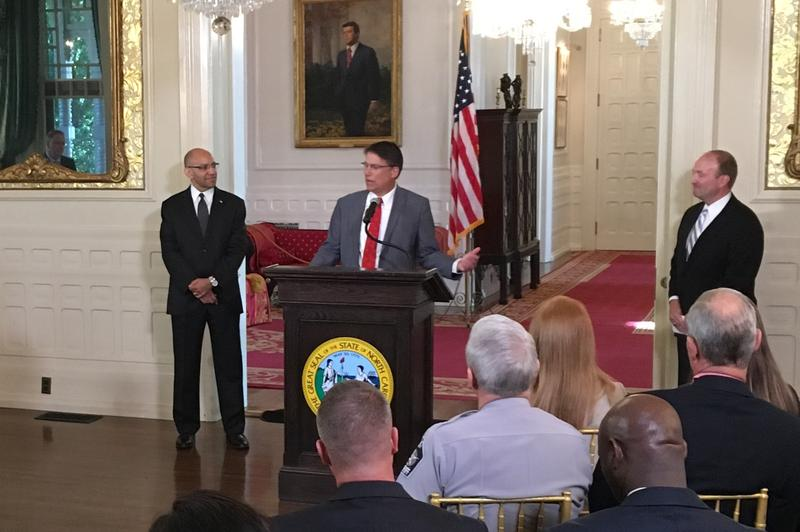 Gov. Pat McCrory nominated retiered Charlotte Police officer Rob Schurmeir to lead the State Bureau of Investigation.