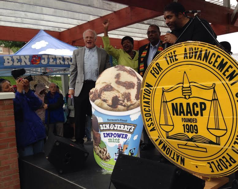 NC NAACP, Voter ID, Ben and Jerry's