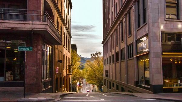 Image of downtown Asheville