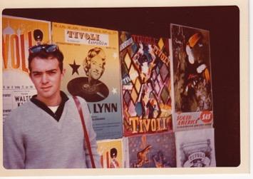 Leon Capetanos went to undergraduate and graduate school at UNC-Chapel Hill. Here he is in Tivoli.