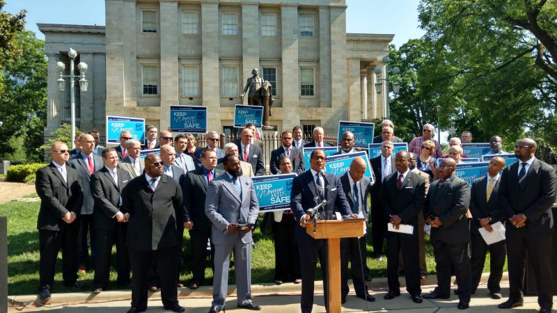 Faith leaders voiced their support of House Bill 2. The clergy also denounces comparisons between Civil Rights struggles and LGBT equality efforts.
