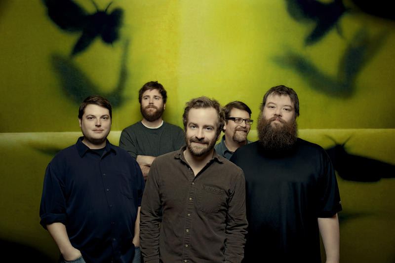 Members of the Minnesota based band, Trampled by Turtles