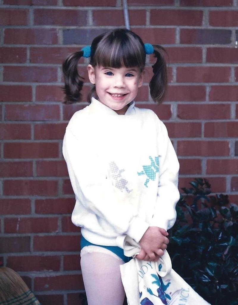 photo of Whitney Way Thore at age 4