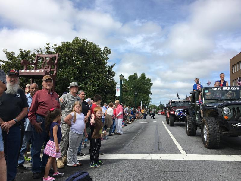 The North Carolina Memorial Day Parade in Thomasville