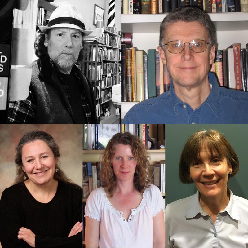 photo of Steve Michell, Tom Campbell, Sarah Goddin, Linda-Marie Barrett and Erica Eisdorfer