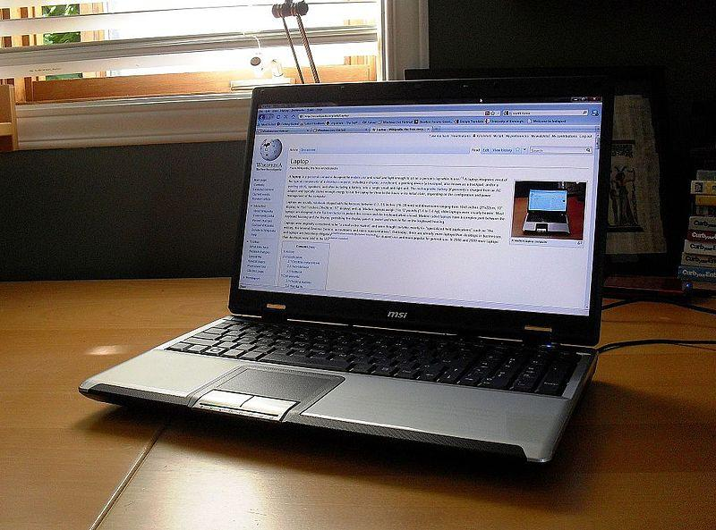 A picture of a laptop.