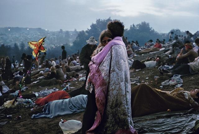 "photo of ""Woodstock"" by Burk Uzzle"