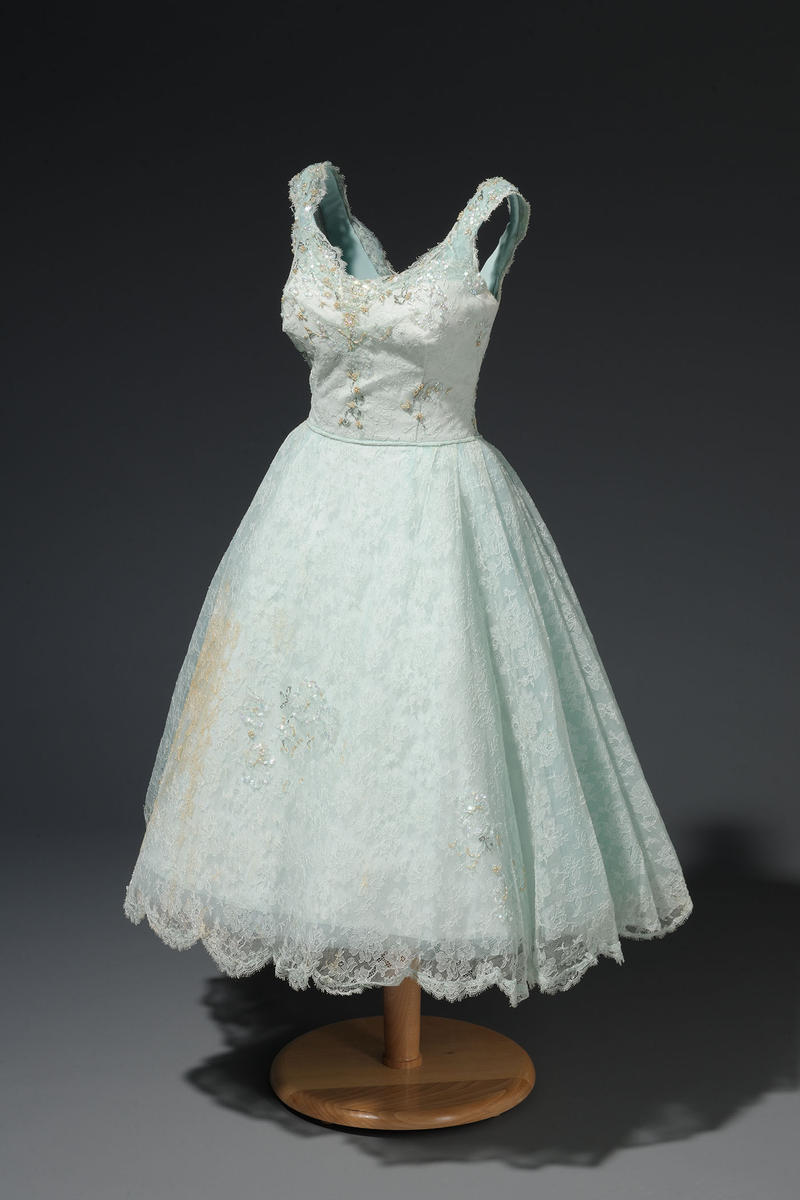 photo of a dress made by Willie Kay
