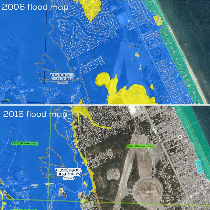 flood maps from 2006 and 2016