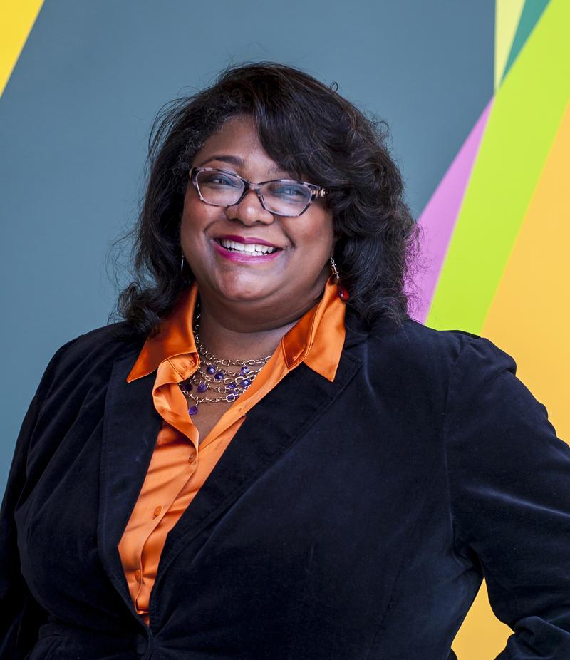 portrait of WUNC reporter Leoneda Inge