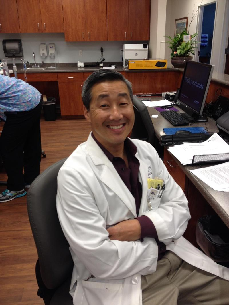 Dr. Douglas Miyazaki of Novant Health's new Pelvic Health Center in Winston-Salem