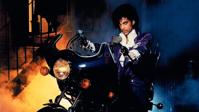 "Photo of Prince from ""Purple Rain"""