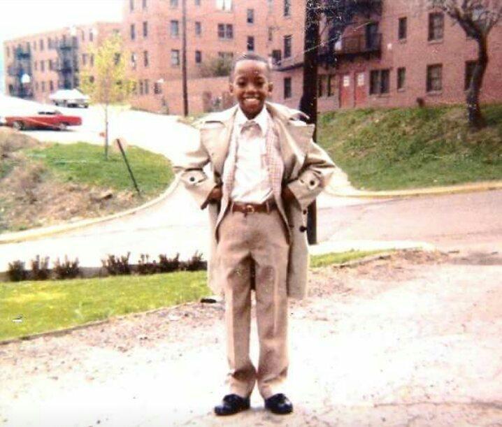 Photo of a young Tarish Pipkins