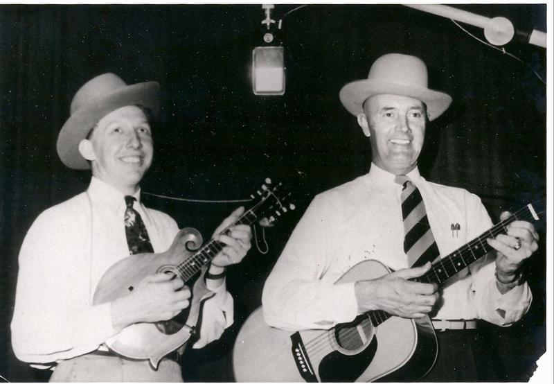 Photo of Curly Seckler and Charlie Monroe