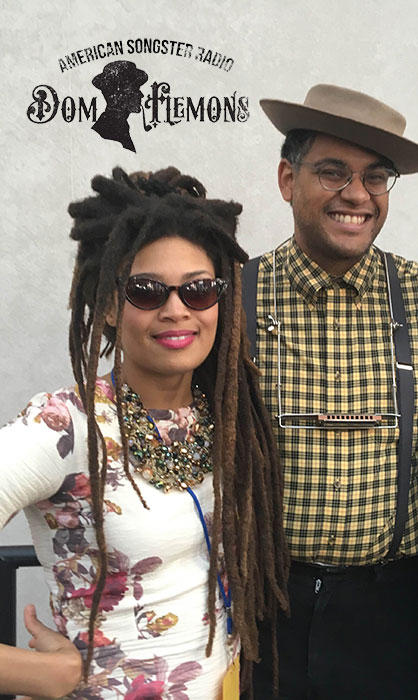 Dom Flemons with Valerie June
