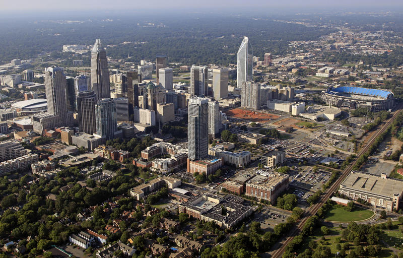 An image of the skyline of Charlotte, N.C.