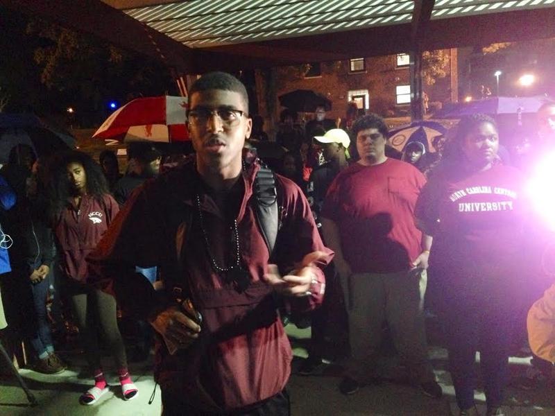 NCCU, Charlotte Police Shooting, Black Lives Matter