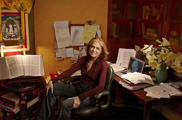 Gloria Steinem author photo
