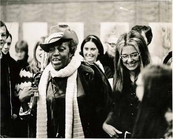 Image of Gloria Steinem and Florynce Kennedy
