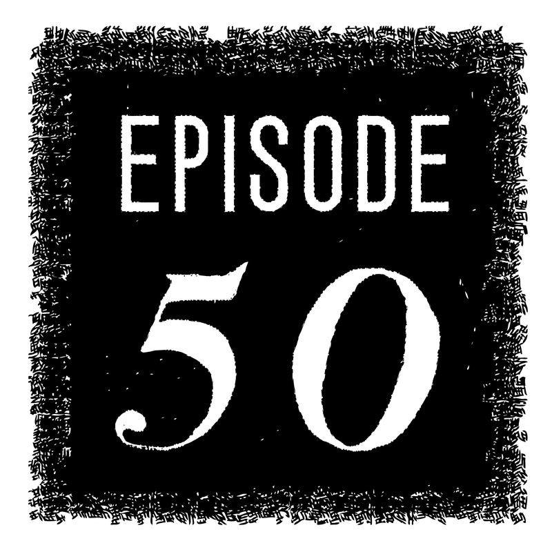Criminal's 50th episode logo.