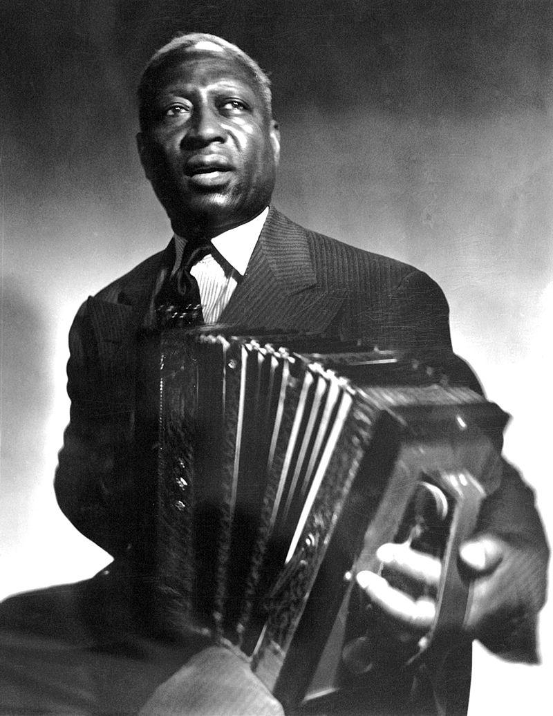 An image of folk singer Leadbelly