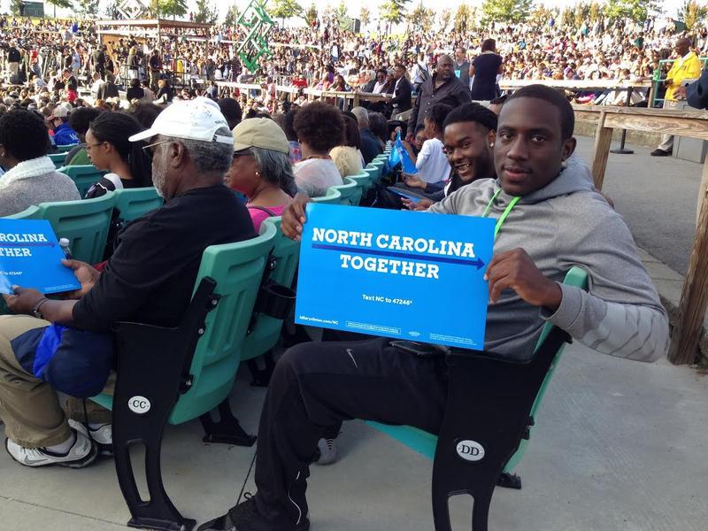 NC A&T, Barack Obama, Hillary Clinton, Black Voters