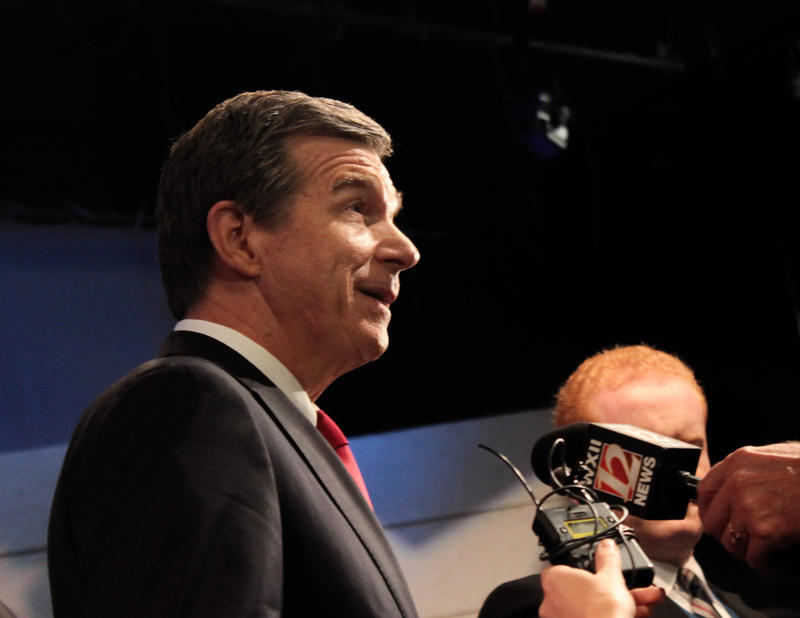 Democratic governor-elect Roy Cooper