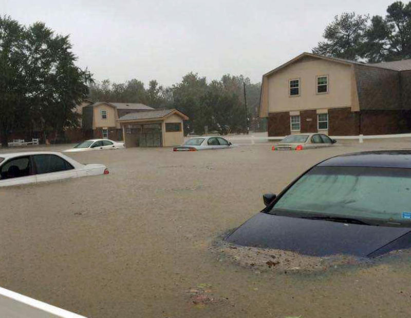 flooding in the Fayetteville area after Hurricane Matthew