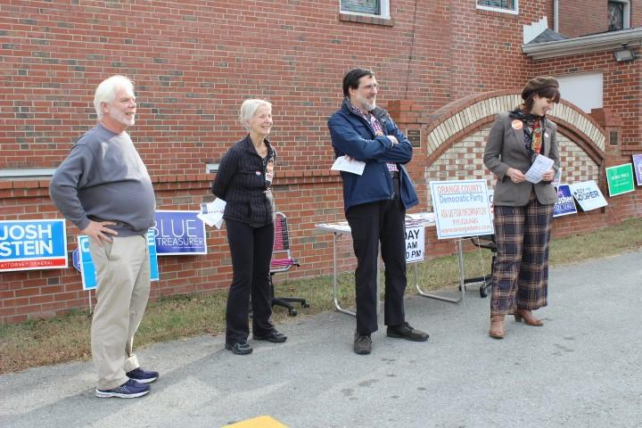 PHOTOS: A Day Of Voting Around The Triangle | WUNC