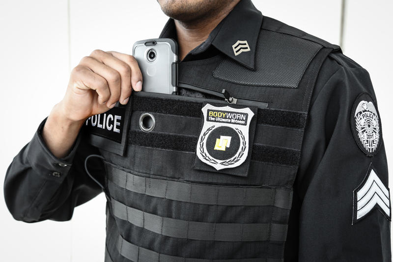 a sample police body cam