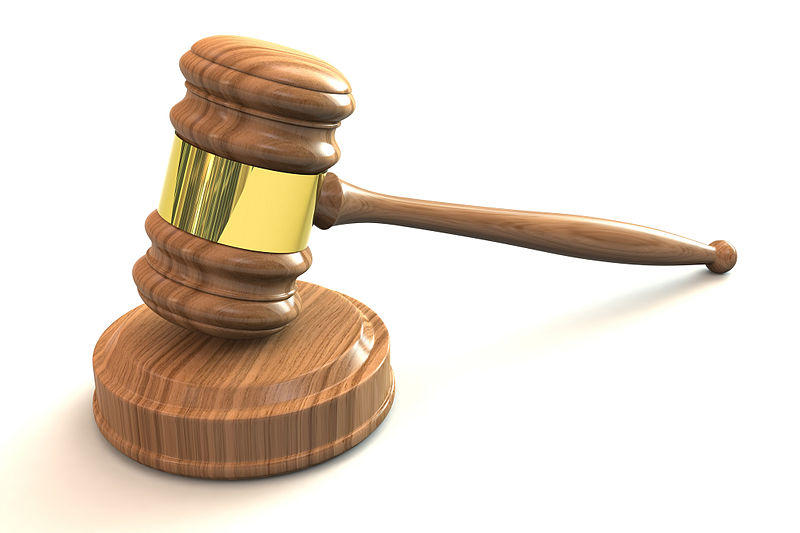 Image of a judge's gavel