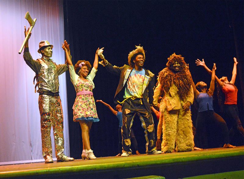 Hillside High School, The Wiz, Musical Theatre