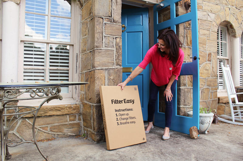 FilterEasy delivers home and business air filters through the mail