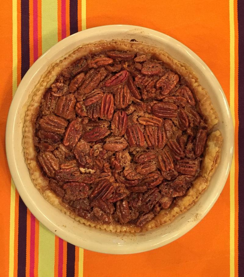 "Steven's ""famous"" pecan pie"
