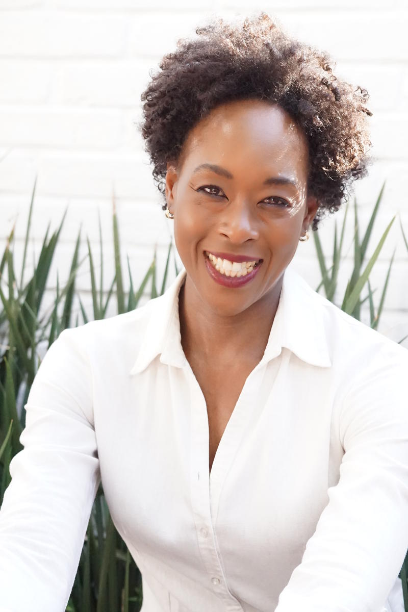 An image of writer Margot Lee Shetterly