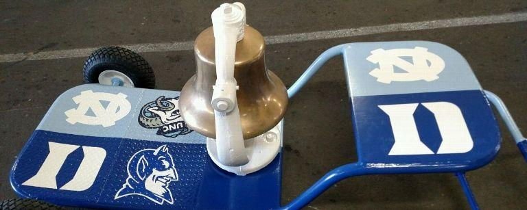 the UNC-Duke Victory Bell