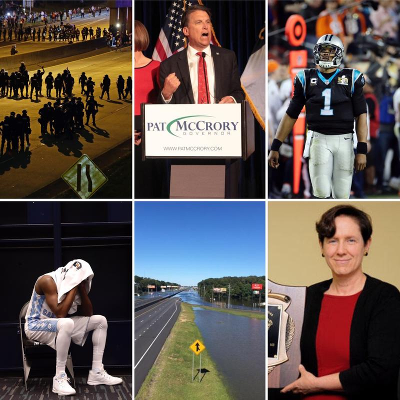 A photo compilation of some of the top North Carolina stories of 2016.