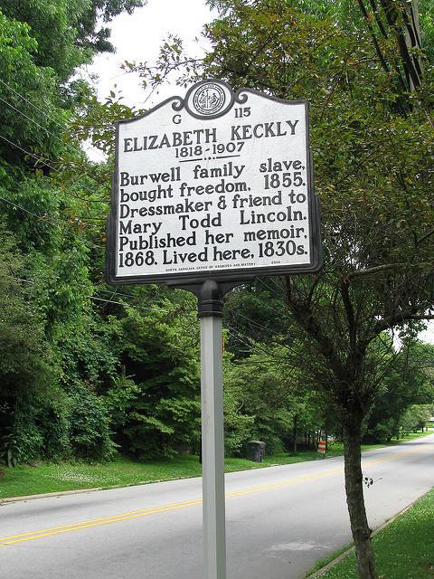 Image of historic marker in Hillsborough