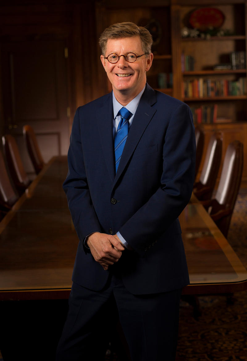 Vincent Price took over as Duke University's tenth president on July 1, 2017.