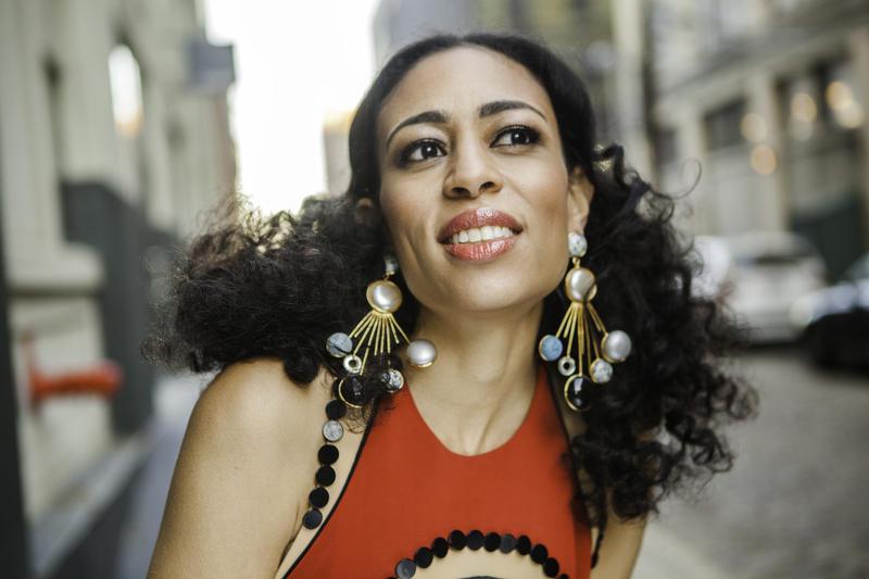 An image of jazz vocalist Candice Hoyes