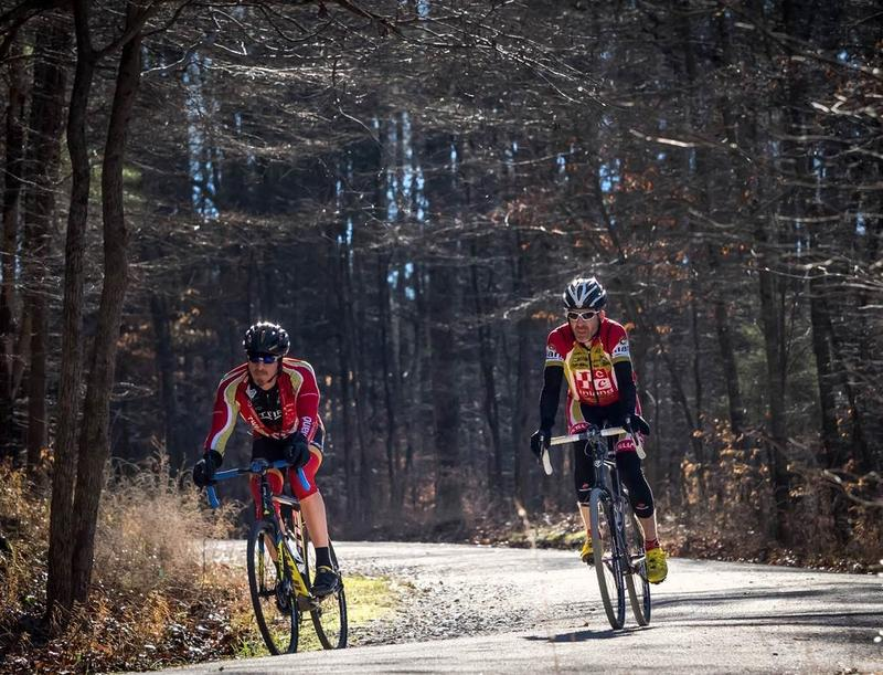 Multiuse Trails at William B. Umstead State Park are open to road bikes, hikers, walkers and equestrians.