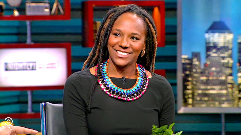 An image of community organizer Bree Newsome