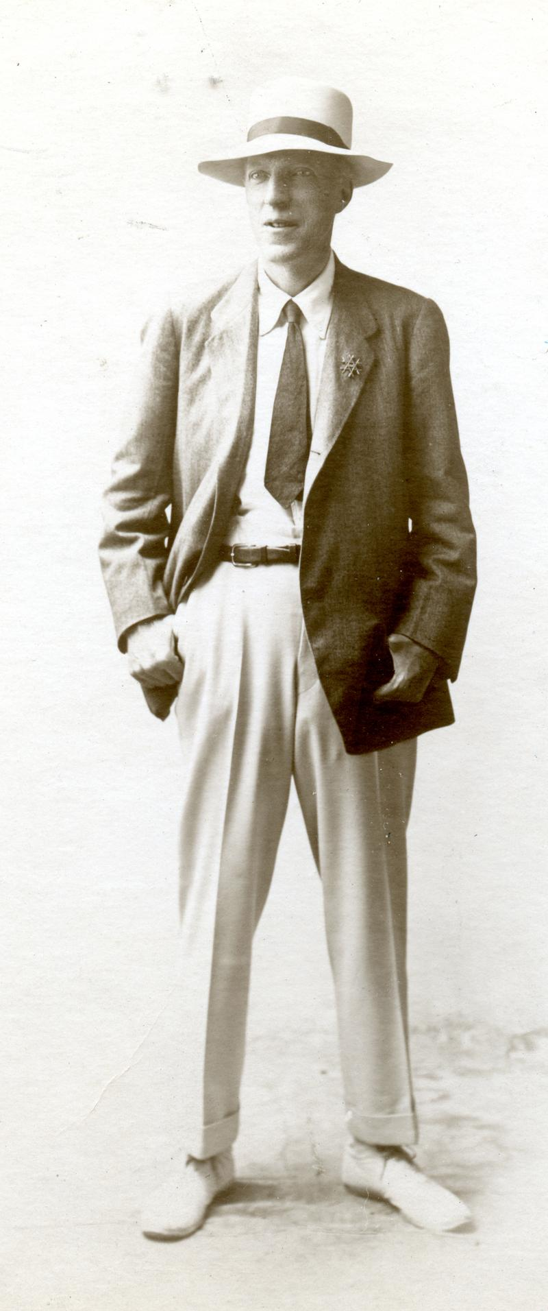 An image of song collector Cecil Sharp