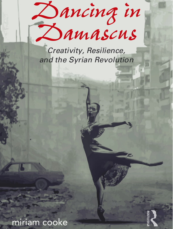 An image of the book cover for 'Dancing in Damascus'
