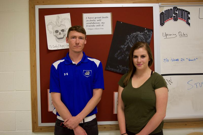 Teacher Brent Myers and Student Anna Neal