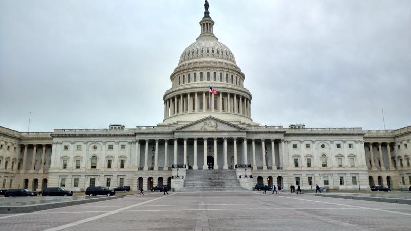 The U.S. Capitol building in Washington D.C.