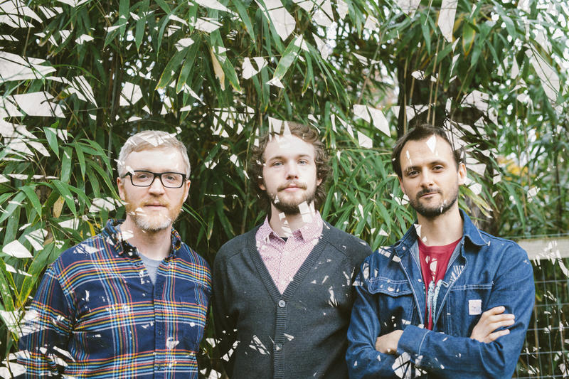 An image of James Phillips, Stacy Harden and Daniel Michalak of Bombadil
