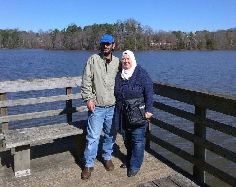 Doha Altaki and her husband Majd live in Greensboro after fleeing from Syria in 2013.